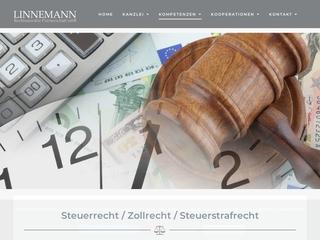 Vorschaubild der Webseite Anwaltskanzlei LIVA