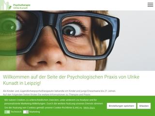 Vorschaubild der Webseite Kindertherapie Leipzig