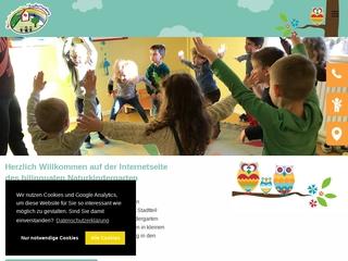 Vorschaubild der Webseite Naturkindergarten Vogelhüttenberg