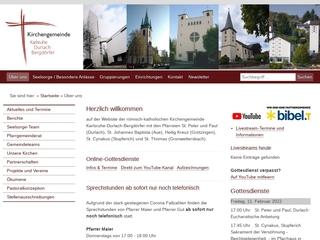 Vorschaubild der Webseite Katholischer Kindergarten St. Thomas