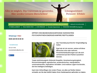 Vorschaubild der Webseite von Anonyme Online-Therapie
