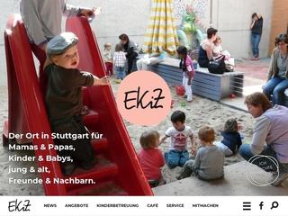 Vorschaubild der Webseite von Eltern-Kind-Zentrum e. V.