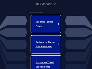 Vorschaubild der Webseite von Kindertagespflege Kidscare-Team