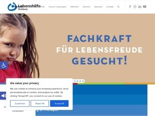 Vorschaubild der Webseite Heilpädagogische Kindertagesstätte Tausendfüssler