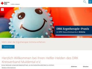 Vorschaubild der Webseite DRK Physiotherapie
