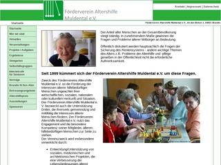 Vorschaubild der Webseite von Selbsthilfegruppe Alzheimer/ Demenz- Angehörige in Brandis und Wurzen