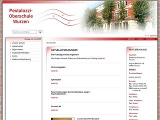 Vorschaubild der Webseite von Pestalozzi Oberschule