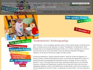 Vorschaubild der Webseite Kindertagespflege Kinderkästchen