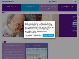 Vorschaubild der Webseite Diakonie-Kinderhaus Regenbogen
