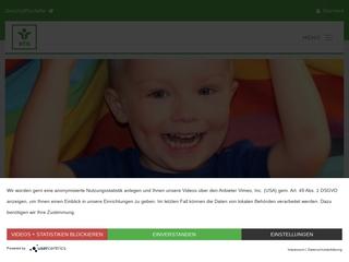 Vorschaubild der Webseite Kindertagesstätte  Sackpfeife