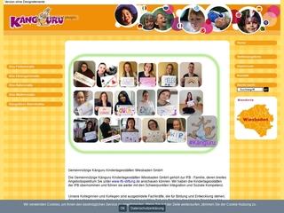 Vorschaubild der Webseite von Känguru Kindertagesstätte Erbenheim