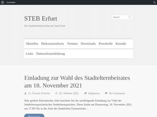 Vorschaubild der Webseite von Stadtelternbeirat Erfurt