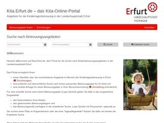 Vorschaubild der Webseite Kindertagesstätte Daberstedter Räuberland