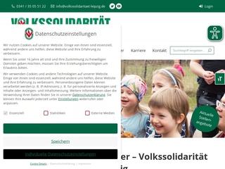 Vorschaubild der Webseite Sozialstation der Volkssolidarität