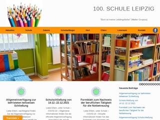 Vorschaubild der Webseite 100. Schule - Grundschule