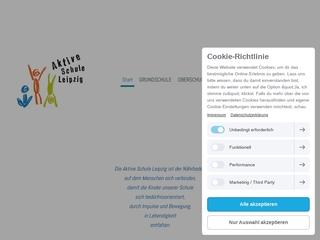 Vorschaubild der Webseite Aktive Schule Leipzig e.V.