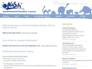 Vorschaubild der Webseite Nachbarschaftsschule - Grundschule