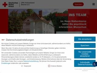 Vorschaubild der Webseite von Ambulanter Pflegedienst der Bremischen Schwesternschaft vom Roten Kreuz e. V.
