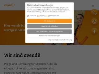 Vorschaubild der Webseite Pflegeheim Haus Burgblick