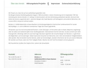 Vorschaubild der Webseite von Brücke e.V.