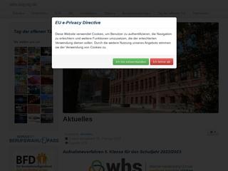 Vorschaubild der Webseite Werner-Heisenberg-Gymnasium