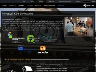 Vorschaubild der Webseite Immanuel-Kant-Gymnasium