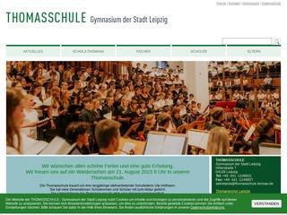 Vorschaubild der Webseite von Thomas-Gymnasium