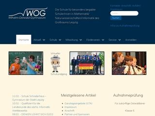 Vorschaubild der Webseite Wilhelm-Ostwald-Gymnasium