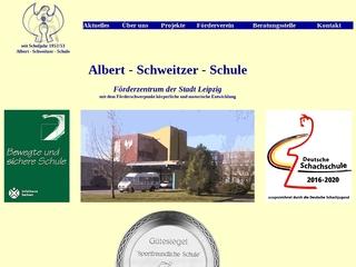 Vorschaubild der Webseite Albert-Schweitzer-Schule - Schule für Körperbehinderte