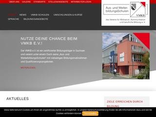 Vorschaubild der Webseite Bildungszentrum des VMKB e.V.
