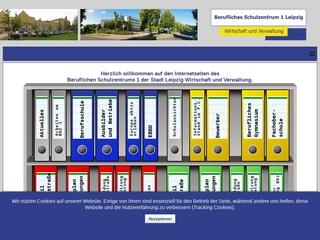 Vorschaubild der Webseite Berufliches Schulzentrum 1 - Wirtschaft und Verwaltung