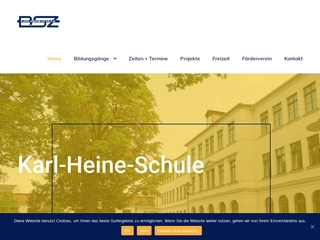 Vorschaubild der Webseite Karl-Heine-Schule - Berufliches Schulzentrum der Stadt Leipzig