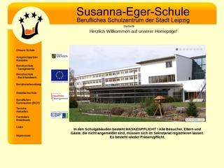 Vorschaubild der Webseite Susanna-Eger-Schule - Berufliches Schulzentrum der Stadt Leipzig