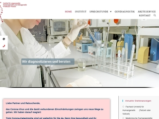 Vorschaubild der Webseite Gynäkologe Univ.-Prof. Dr. med. Ursula Froster