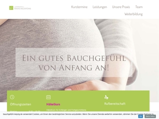 Vorschaubild der Webseite von Hebammenpraxis Bauchgefühl