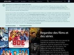 VideoPrime : Catalogue VOD proposé par Amazon
