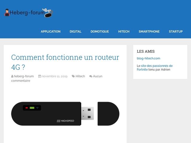 Heberg-Forum - Créer un forum gratuit