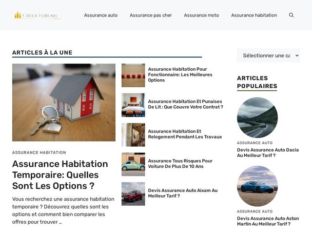 Forum gratuit, Créer un forum gratuit sur creer-forums.com