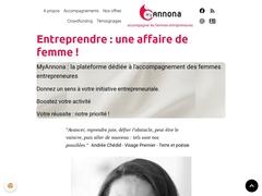 MyAnnona spécialiste accompagnement femmes entrepreneures