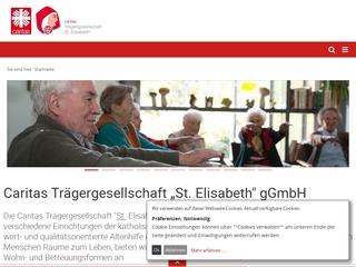 Vorschaubild der Webseite St. Elisabeth-Heim