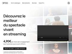Opsis TV - Voir le théâtre autrement, en streaming et en illimité
