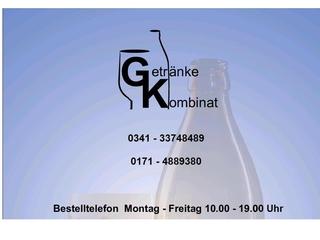 Vorschaubild der Webseite von Getränkekombinat Leipzig
