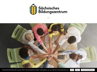 Vorschaubild der Webseite Sächsischen Bildungszentrums e. V.