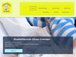 Vorschaubild der Webseite Stadtelternrat ohne Grenzen e.V.