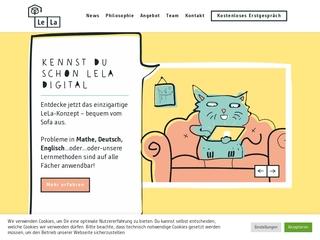 Vorschaubild der Webseite Lela Leipzig - 1:1 Lernpersönlichkeitsentwicklung