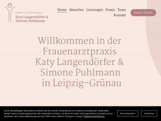 Vorschaubild der Webseite von Gemeinschaftspraxis Frauenheilkunde