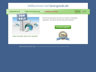 Vorschaubild der Webseite von Sport- und Freizeitartikel-Shop  best-goods.de
