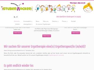 Vorschaubild der Webseite Kindersport Stubenhocker