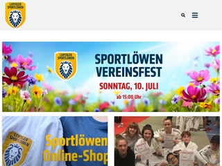 Vorschaubild der Webseite von Leipziger Sportlöwen e. V.