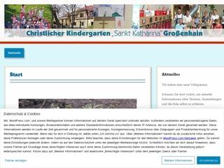 Vorschaubild der Webseite Christl. Kindergarten St. Katharina